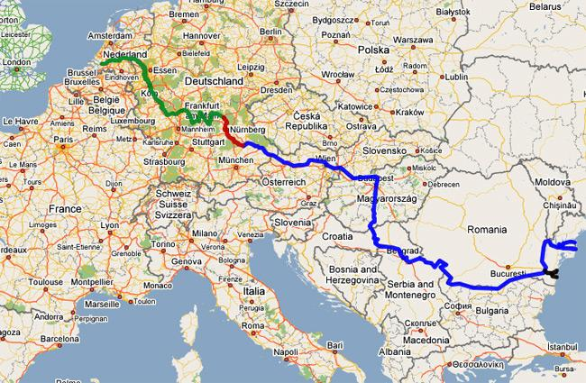 Map Of The Danube River My Blog: Map Of Danube River In Germany At Infoasik.co