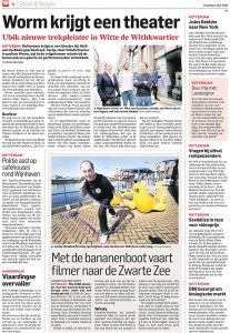 April 4th - Algemeen Dagblad, Dutch Newspaper